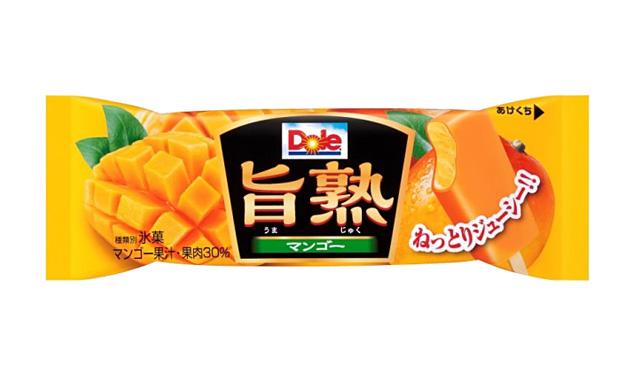 ロッテアイスから『DoleⓇ 旨熟マンゴー』発売へ