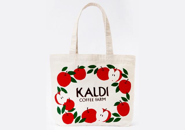カルディコーヒーファームから『りんごバッグ』数量限定発売へ