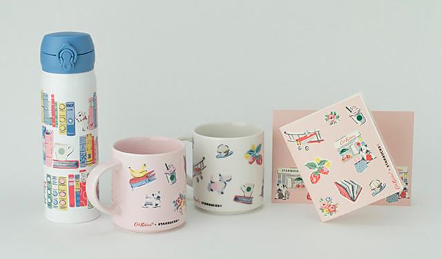 スタバ初!「キャス キッドソン」デザインのコラボグッズ日本限定発売