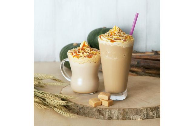タリーズコーヒーから「丸ごとパンプキンを楽しめる」季節限定ドリンク登場