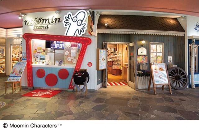キャナルのムーミンベーカリー&カフェで『キャラクターフェア』開催中