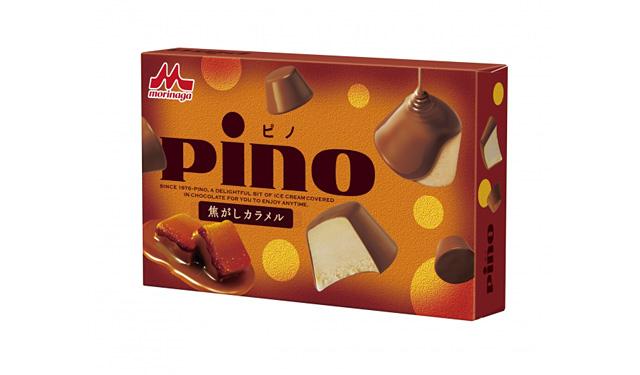「ピノ」シリーズから、新フレーバー『ピノ 焦がしカラメル』新発売