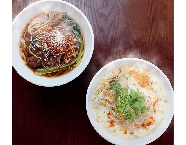 春水堂から新商品『豆漿鶏湯麺』『麻辣牛肉麺』2種発売へ