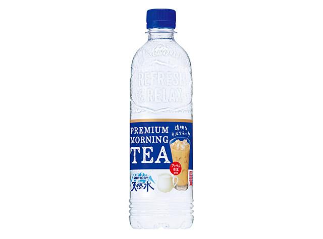 サントリー天然水シリーズから「透明なミルクティー」発売へ