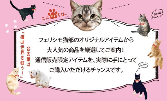 博多マルイに期間限定ショップ「フェリシモ猫部 」
