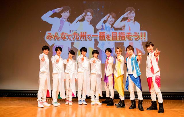 マジプリが福岡でリリースイベントを実施!ナイスタも登場し9人揃ってパフォーマンス