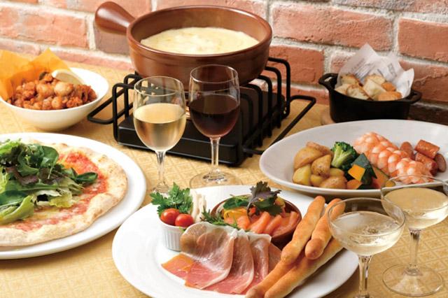 ホテルオークラ福岡で『チーズフォンデュ』開始