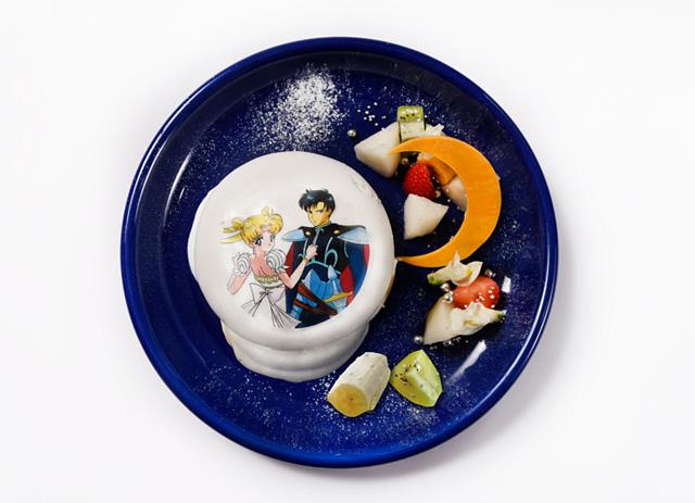 シルバー・ミレニアムパンケーキ~二人の愛は永遠に~ 1,490円(税抜)