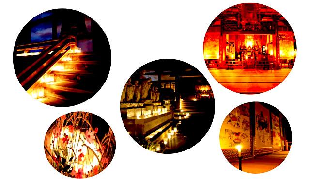 香春町の浄土宗 光願寺で『月と仏たち』開催