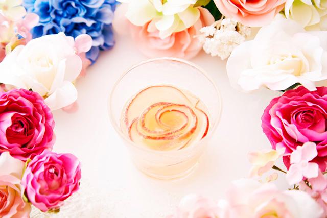 花咲く生姜梅酒