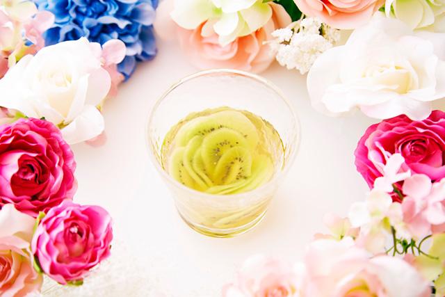 花咲く越後梅酒