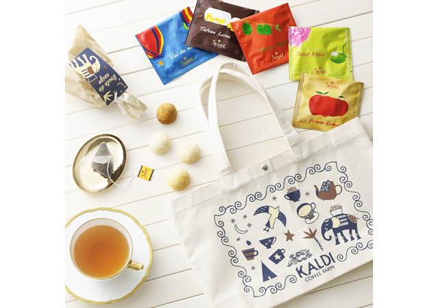 カルディコーヒーファームから『紅茶の日バッグ』数量限定発売へ
