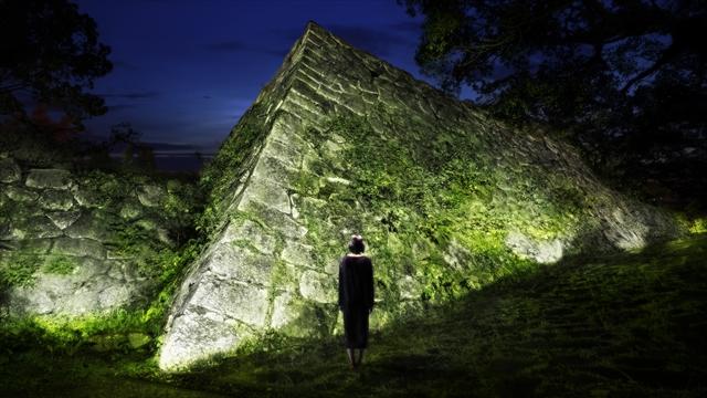 呼吸し呼応する石垣 - 石城跡
