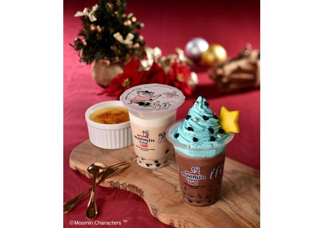 ムーミンスタンドから「クリスマスシーズンにぴったりのドリンク」2種発売へ