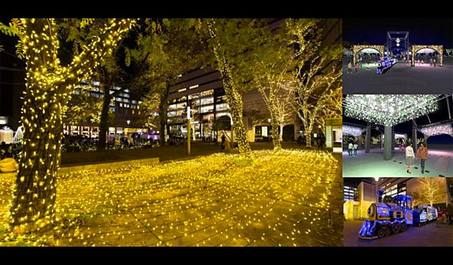 警固公園「TENJIN HIKARI SQUARE」オープンへ