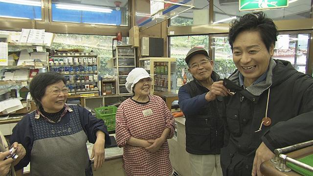 銀之丞さんと村人のみなさんの再開 ※画像提供:NHK福岡放送局