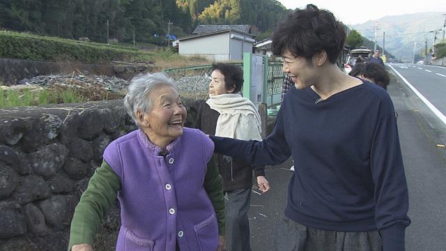 寺島さんと共演したおばあちゃんの再開 ※画像提供:NHK福岡放送局
