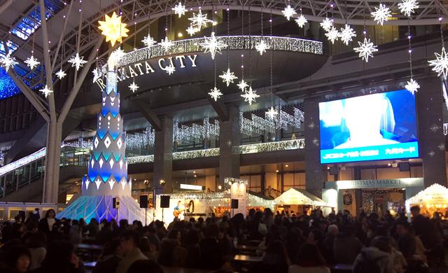 博多&天神で国内最大規模の「クリスマスマーケット」12月25日まで
