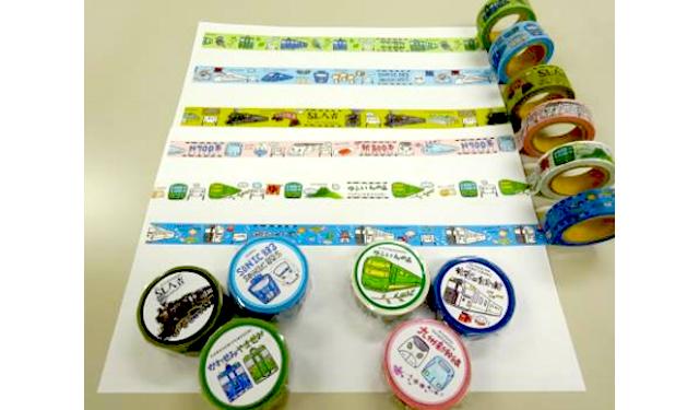 JR九州列車マスキングテープ 6種類セット