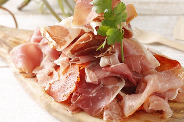 イタリア産生ハム 食べ放題 780円