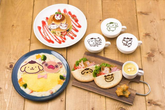 福岡パルコで『パンパカパンツ×ポムポムプリンカフェ』期間限定オープン