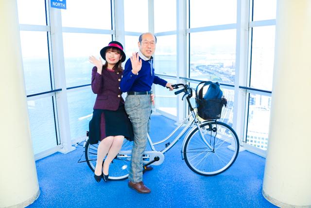 福岡タワーバレンタインイベント  あの「桐谷さん」と福岡タワーでデートができる特別企画を開催!