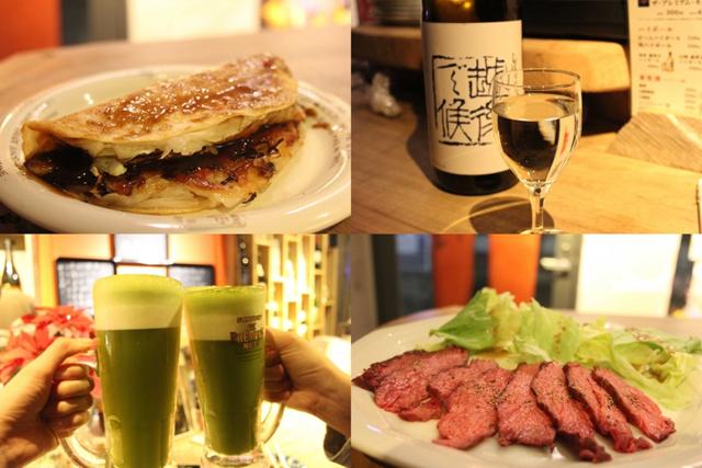 抹茶ビールに500円のローストビーフだと…!福岡に惚れ込み移住した店主が営む居酒屋「門」が旨くて安くて最高だ