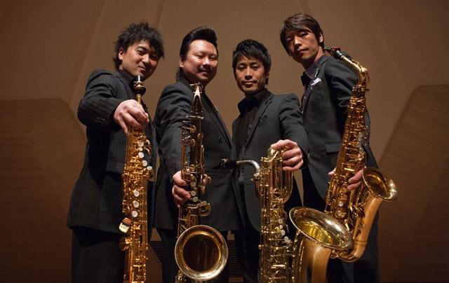 北九州芸術劇場で『カルテット・スピリタス  サクソフォン四重奏コンサート』開催