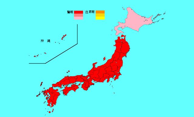 インフルエンザ全国で警報レベル超え、福岡県は全国1位