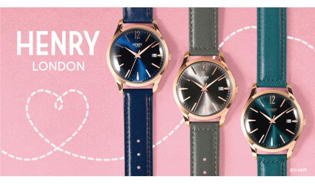 博多阪急に英国の腕時計ブランド『ヘンリーロンドン』のポップアップショップ登場