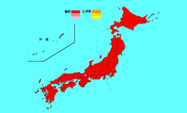 インフルエンザ全国で警報レベル超え、福岡県は全国2位