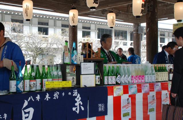 太宰府天満宮で「春の銘酒展」福岡県の酒蔵のお酒を展示・試飲・販売!