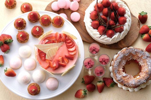 ホテルオークラ福岡が「春限定のいちご商品」3店舗で提供へ