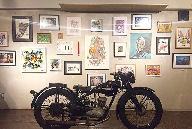 赤坂・けやき通り「OTOGI」に8人の注目アーティスト作品が集結