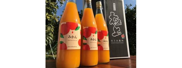 ウシジマ青果のみかんジュース 720ml