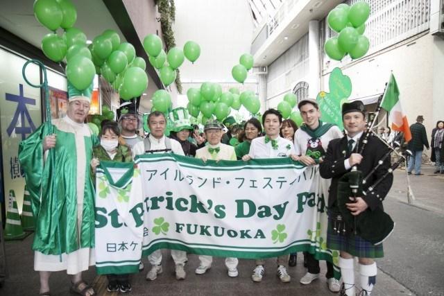アイルランドの祝祭日「セント・パトリックス・デー」に「ギネス」半額イベント