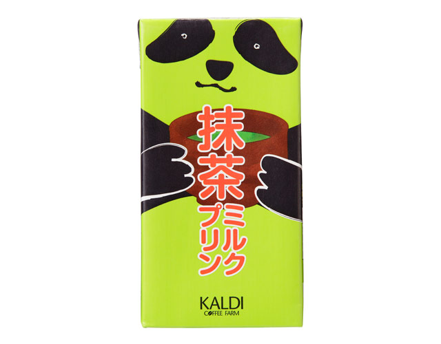 カルディコーヒーファームから『オリジナル パンダ抹茶ミルクプリン』発売へ