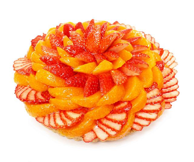カフェコムサで「みかん、きんかん、オレンジのケーキ」柑橘企画開催へ