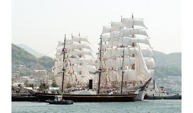日本で随一の帆船イベント!長崎港で「2018長崎帆船まつり」4月19日~23日開催