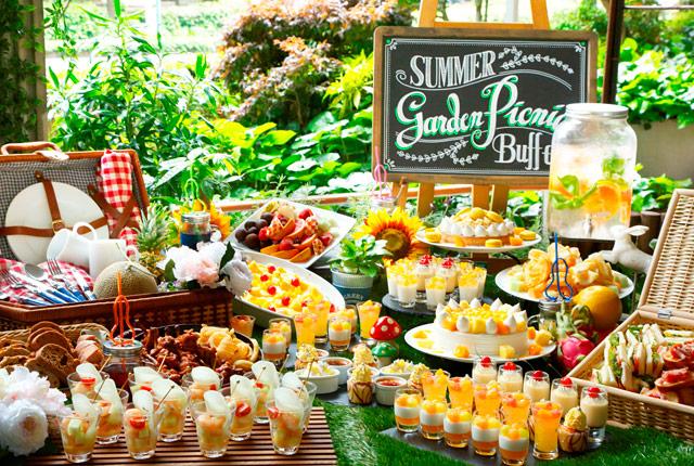 ANAクラウンプラザホテル福岡で『ガーデンピクニック ~サマーフルーツデザートビュッフェ~』開催へ