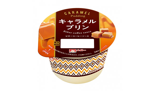 メイトー『キャラメルプリン ビターコーヒーソース』リニューアル発売へ