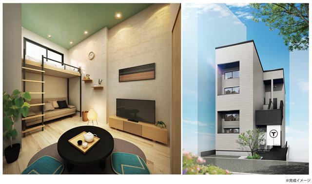 福岡市内に「IoT民泊アパート」4棟開発へ