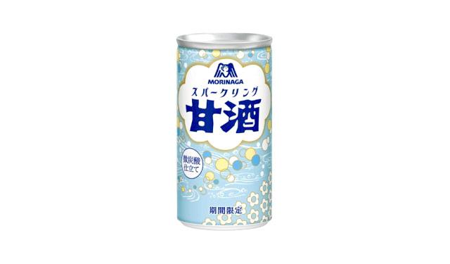 森永製菓から『スパークリング甘酒』夏季限定発売