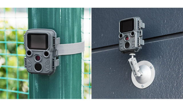 サンワサプライから「家庭用防犯カメラ」発売開始