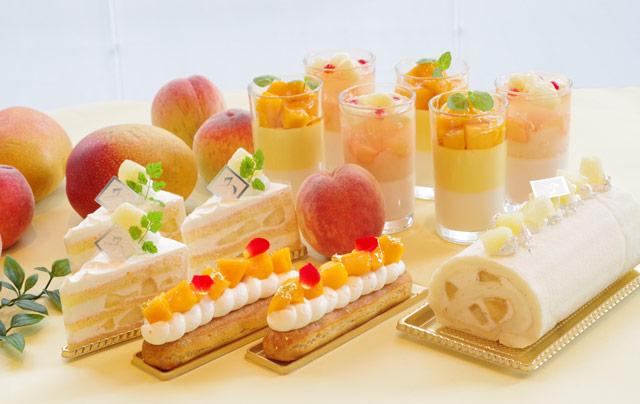 ANAクラウンプラザホテル福岡で『桃とマンゴーフェア』開催中