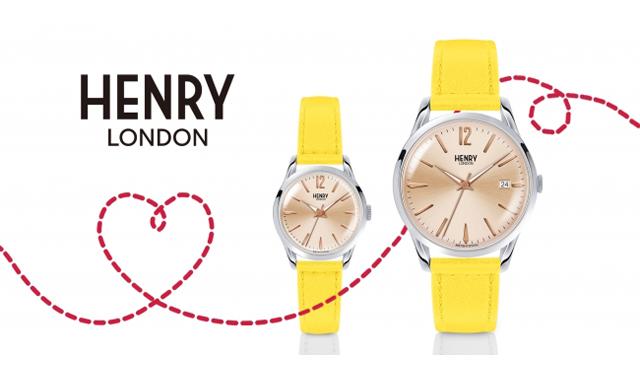 『チックタック 福岡パルコ店』で英国の腕時計ブランド『ヘンリーロンドン』の刻印サービスキャンペーンを期間限定で開催!