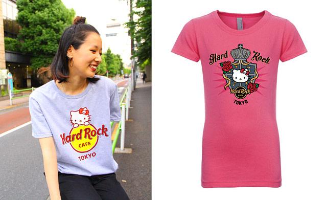 ハローキティ×ハードロックカフェのコラボ限定Tシャツ発売へ