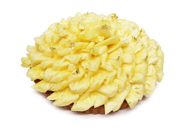 カフェコムサから「プレミアムパイナップルのケーキ」2週間限定発売へ
