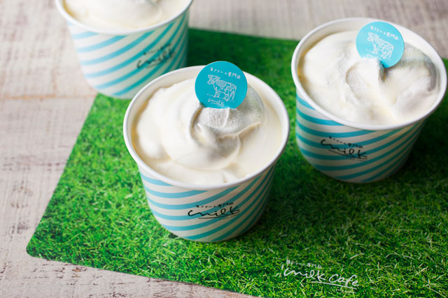 アミュエストに『生クリーム専門店 ミルク』期間限定出店