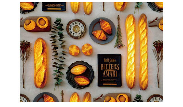 """本物のパンを使った、おいしそうなインテリアライト「モリタ製パン所」""""パンプシェード""""期間限定販売"""